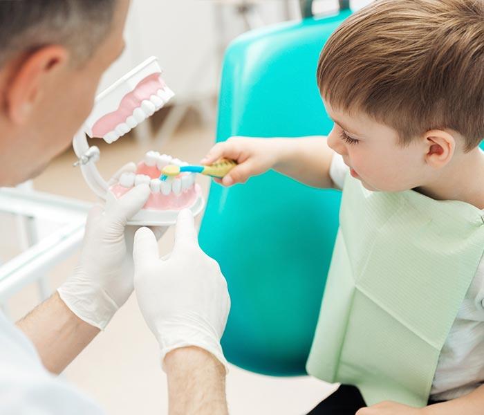 Quitando el miedo al dentista