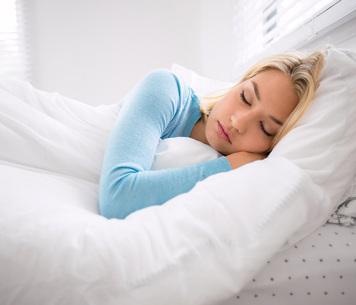 Rechinar los dientes mientras duermes