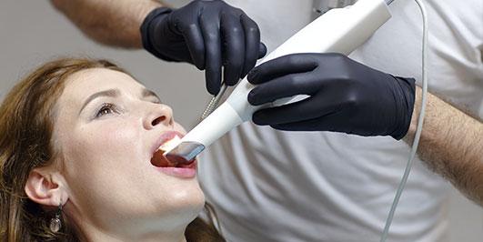 Escáner de dientes