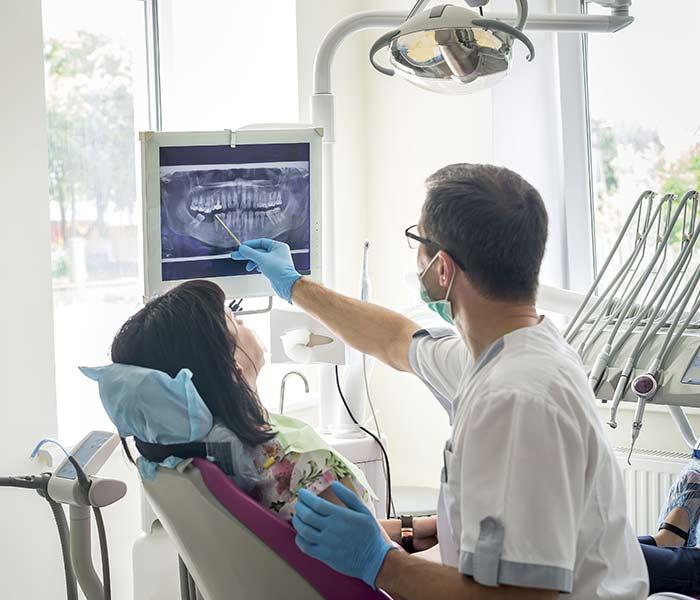 Estudio de implantes dentales